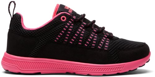 Supra, Sneaker uomo (Black/Magenta/Magenta)