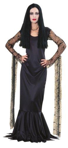 The Addams Family Mortica Kostüm Halloween für Damen Damenkostüm Grufti Horror Grusel Halloweenkostüm Gr. M / 40 - 42 (Addams Familie Halloween Kostüme Uk)