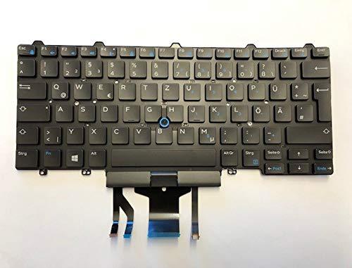 Neu Dell Latitude E7450 E5450 DEUTSCH QWERTZ Beleuchtete Tastatur 4JPX1 04JPX1