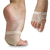 Amatt Ballet Foot Tongs, Breathable Paw Shoes Half Sole Forefoot Belly Foot Thongs for Kids Dance