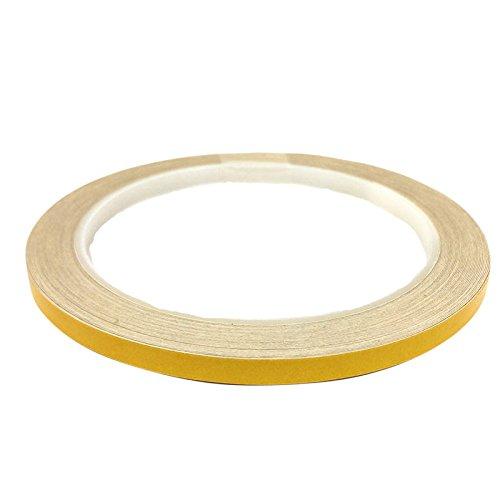 DonDo 3M 610C Reflektierendes Klebeband Reflexfolie Konturmarkierung Gelb 5mm x 10m