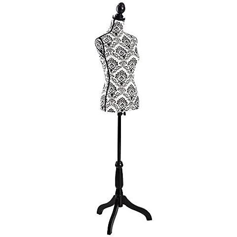 Buste Mannequin - TecTake Buste de femme mannequin de couture