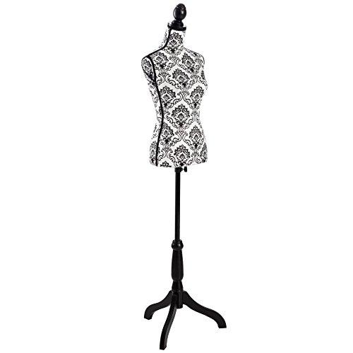 TecTake mannequin de couture Femme réglable en hauteur