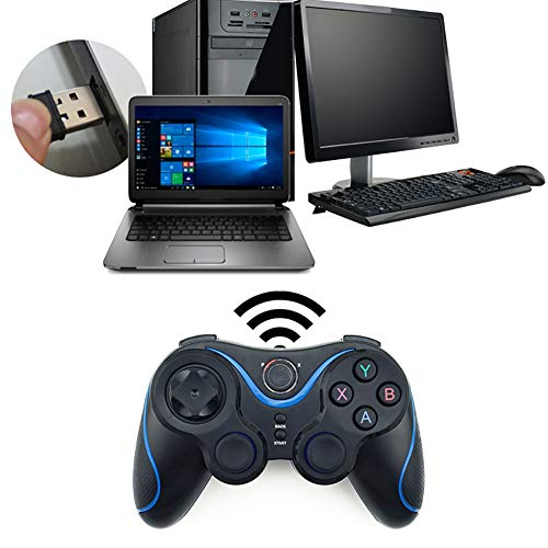 HeavFYj 2.4G Universal Wireless Bluetooth Gamepad Game Controller for Android PC TV Box