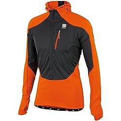 Chaqueta cortavientos Dynamo Top, color naranja (33), talla XXL