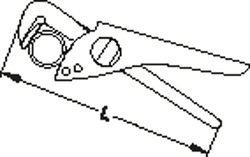 GEDORE Blitz-Rohrzange 11 Zoll, 1 Stück, 152 11