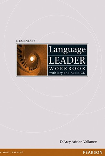 Language Leader Elementary Workbook with key and Audio CD pack