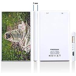 Batería externa adicional para Smartphone Impreso con un precioso diseño de carlino