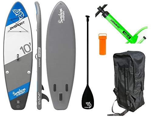 DevesSport - Paddle Board Sunshine, color Blanco/Azul