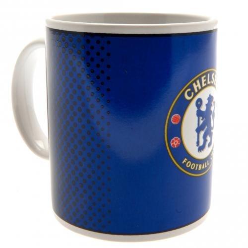 Chelsea FC Blau verblassen Fußball-Club Geschenkkarton Becher Punkte offiziellen -