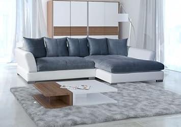 sofa couch wohnlandschaft big sofa anna l form rana collection 290 ... - Big Sofa Oder Wohnlandschaft
