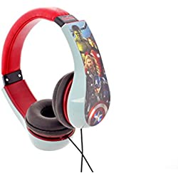 Sakar HP2 – 04543 Marvel The Avengers: kidsafe Auriculares Rojo
