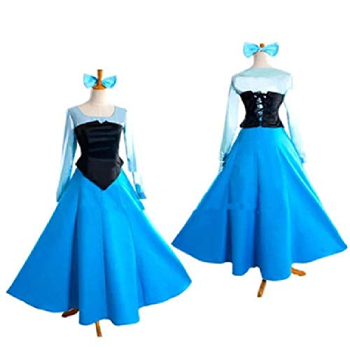 Kostüm Book Day Dress Up World - DXYQT Cosplay Anime Kostüm Prinzessin Erwachsene Kleid Halloween Kostüm World Book Day Kostüm Kostüm für Frauen,Princess Dress-L