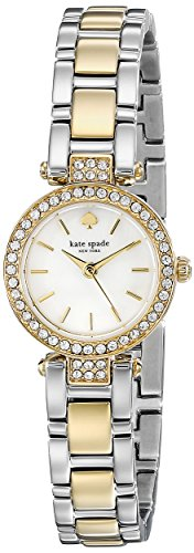 Kate Spade 1YRU0722 Ladies Tiny Pave Gramercy Two Tone Watch