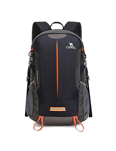Trekking Rucksack Camel 30L Hiking Backpack Wasserdicht Multifunktionsrucksack Für Outdoor Sport Natursport Campingfreund Bergsteigen - Gewichte Pfund 30