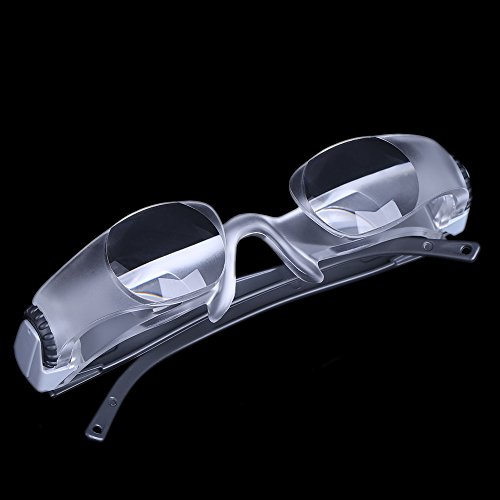 anizun (TM) Fernseher TV Brille Lupe Objektiv Lupe 300Grad Brillen Portable Lupa 2,1x Kurzsichtige Lupe Mikroskop ferramentas