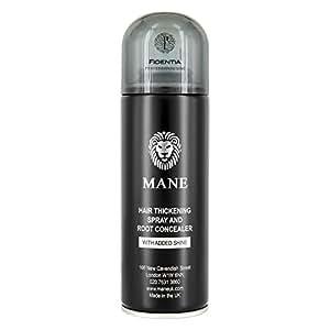 Mane Haarauffüller & Ansatzkaschier Spray zur Haarverdichtung 200ml, Dunkelbraun - Dark Brown