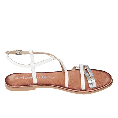 Tamaris1-1-28114-28/318 - Sandaletto Donna Bianco