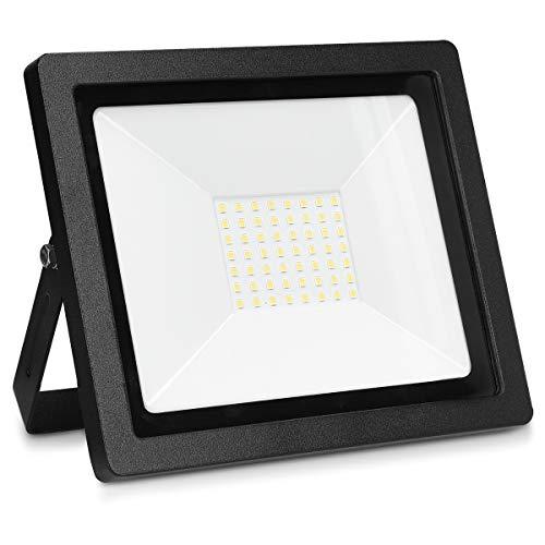 kwmobile Foco exterior LED 3250 lúmenes - Luz para trabajo de 50W...