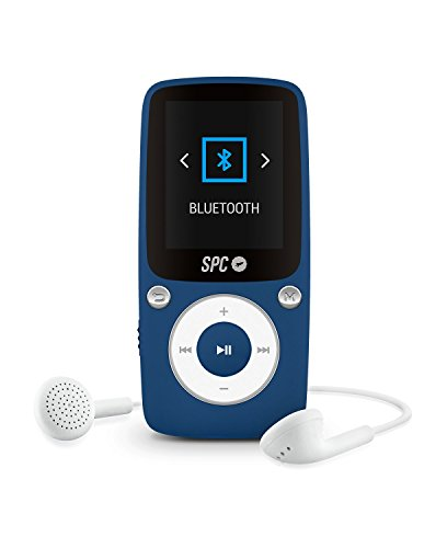 SPC 8578A MP3-Player, schwarz/blau