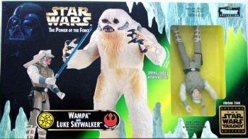 Wampa and Luke Skywalker Star Wars