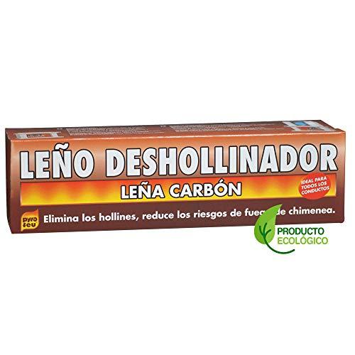 Pyro Feu 24777-12 Leño Deshollinador Ecológico, Marrón, 1.100 Gramos (Paquete de 12)