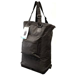 21 Lightweight Cabin Flight Hand Luggage Travel Holdall Carry Suitcase Baggage Wheeled Trolley Weekend Bag - Fits Most Airlines Only 03kg Worlds Lightest Ultra Light Cabin Bag Plain Black