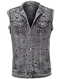 6d48553248 Amazon.it: gilet jeans: Abbigliamento