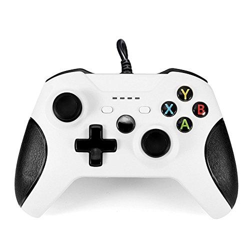 y1cheng Gamepad USB-Kabel Controller Fernbedienung für Microsoft Xbox One Controller Gamepad für XBox One Slim PC/Windows/Mando Joystick
