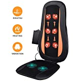 Shiatsu Back Massager Massage Chair with Heat - Electric Massage Cushion with 3D