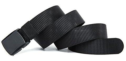 VEASTI Ceinture Tissu Homme de Toile élastiques de ceinture pour hommes 51
