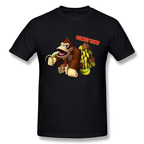 Men's Donkey Kong Eat Banana T-Shirt