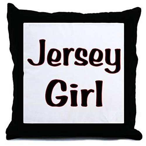 CafePress Jersey Girl Throw Pillow - w/insert Multi-color