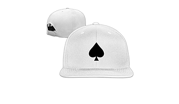 Hittings Vintage Ace Of Spades ACE Black Music Trucker Hats Snapback White   Amazon.co.uk  Sports   Outdoors 8f5b34be82ea