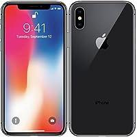 Apple iPhone X - Smartphone con pantalla de 14,7 cm (64 GB, Gris espacial)