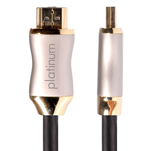 HDANYWHERE 2m HDMI to HDMI Cable, High Speed with Ethernet, 1080p, 3D Support, 4K Support, 18 Gbps, HDMI Lead for TV, Plasma & LED / OLED TV, Sky, BT, Virgin, Laptops, PS3, PS4, Xbox etc (2 Meter)