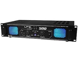 Amplificateur sono 2 x 250w avec égaliseur EQ-500