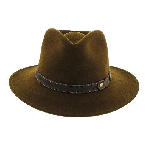 votrechapeau-cappello-borsalino-petrus-in-feltro-pieghevole-e-impermeabile-marrone-62-cm