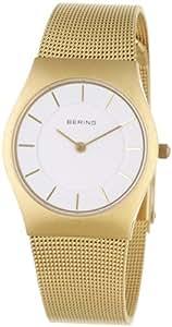 Bering Time - 11930-334 - Montre Femme - Quartz Analogique - Bracelet Acier Inoxydable Doré