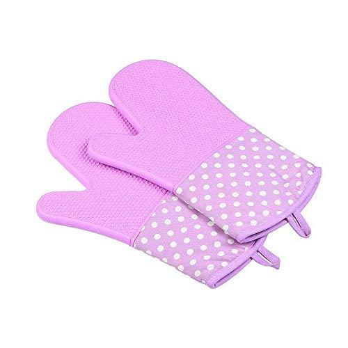 Lange Handgelenk schützen Hitzebeständige Handschuhe,Skidproof Anti-Öl 300