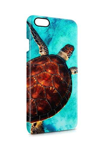 aina 3D iPhone 6 6s Schildkröte Tier SILIKON Flipcase Tasche Flip Hülle Case Cover Schutz Handy V5 (Iphone6 Case Schildkröte)