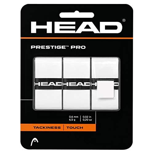 HEAD Overgrip Prestige Pro 3-er, weiß, One Size, 282009-wh
