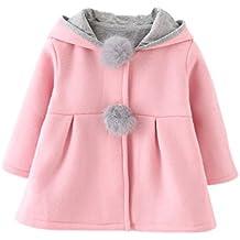 ESHOO - Sudadera con capucha - Parka - para niña
