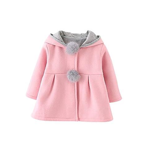 Brightup Mignon Manteau Vêtement D'hiver Pour Enfants Fille 1-5