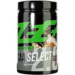 ZEC+ BCAA Select+ 2.0 | instantisierte Aminosäuren | L-Leucin | L-Valin | L-Isoleucin | perfekte Löslichkeit | sensationeller Geschmack | VEGAN | Geschmack COLA