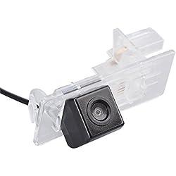 Navinio Caméra De Recul Couleur Vision Nocturne Voiture Camion pour Dacia Lodgy /Renault Fluence/ Duster Megane/ Latitude/Scenic 2/ Laguna 2/3 X91/ Captur/ Clio 4