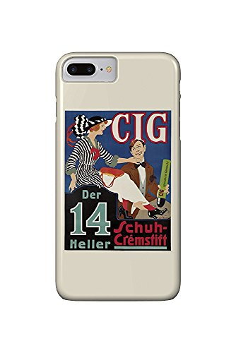 Cig Vintage Poster (artist: Ranzenhofer, Emil) Poland c. 1918 (iPhone 7 Plus Cell Phone Case, Slim Barely There)