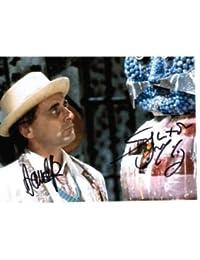 Sylvester McCoy & David John Pope (Doctor Who) - Genuine Signed Autograph