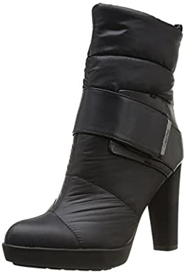 Calvin Klein Nasha, Boots femme - Noir (Blk), 40 EU