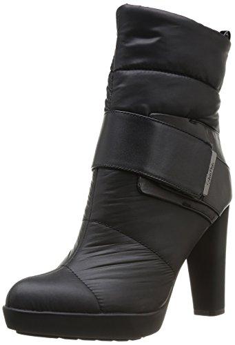 Calvin Klein Nasha N11556 Tronchetti Donna Stivali sotto Polpaccio Tacchi Alti Nero  (Noir (Blk))